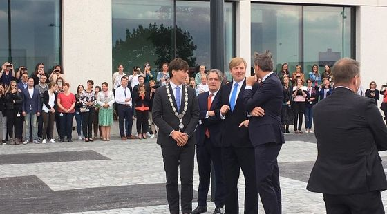 King Willem-Alexander opens Breda's new courthouse