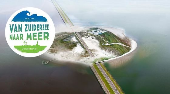 Yttje Feddes and Paul de Ruiter chair inspiring session about the Afsluitdijk master plan