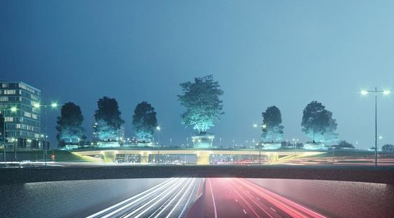 """Amstelveners choose the """"Bomenbrug"""" (Bridge of Trees) for the A9"""