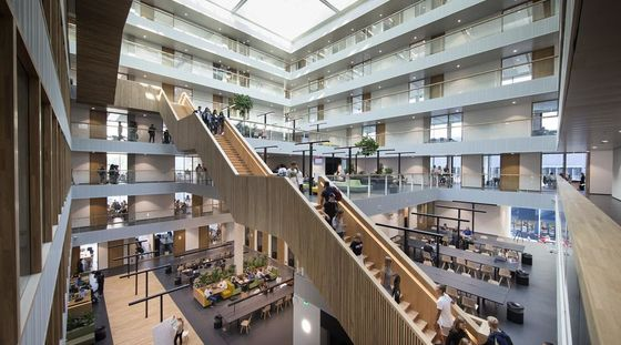 Rotterdam University of Applied Sciences' new faculty building: where students are prepared for tomorrow's world