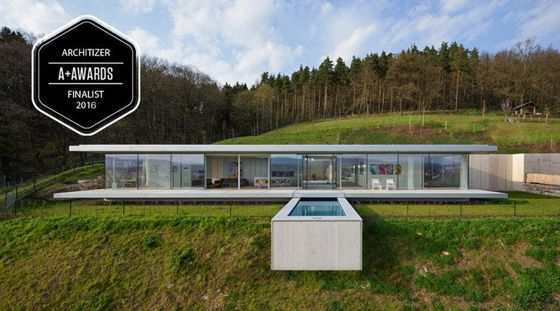 Villa K in Germany selected as a finalist for the Architizer A+ Award