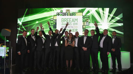 Unilever Global Foods Innovation Centre Wageningen tweemaal winnaar internationale BREEAM Awards