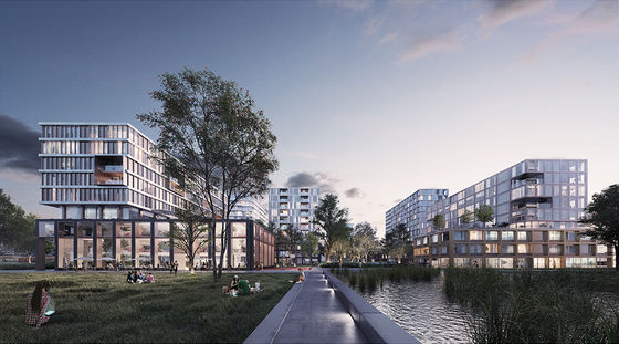 Development of Leiden Bio Science Park's entrance area gets under way with signing of agreement