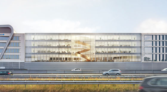 Construction in full swing on the Helix multi-tenant building in Utrecht
