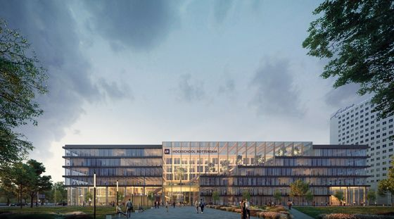 Paul de Ruiter Architects designs new extension for the Rotterdam Business School