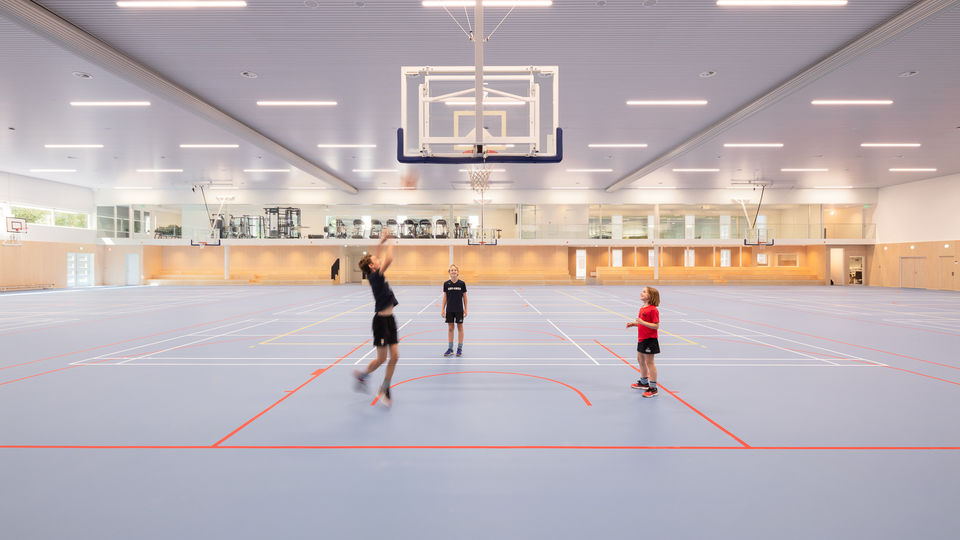Sportzaal American School of The Hague